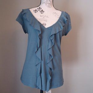 Teal blouse from Mexx